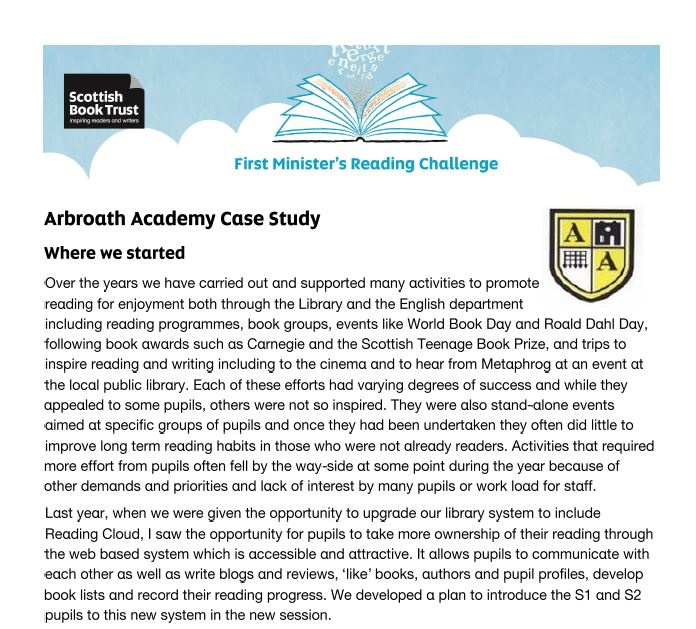 Arbroath Case Study