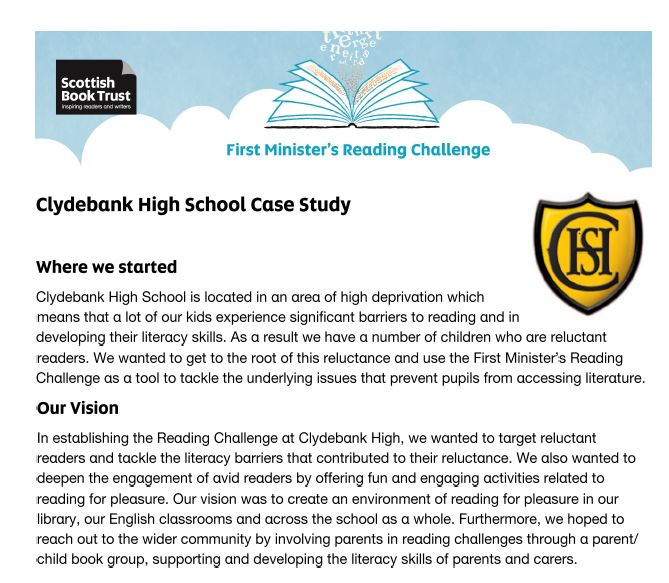 Clydebank High Case Study