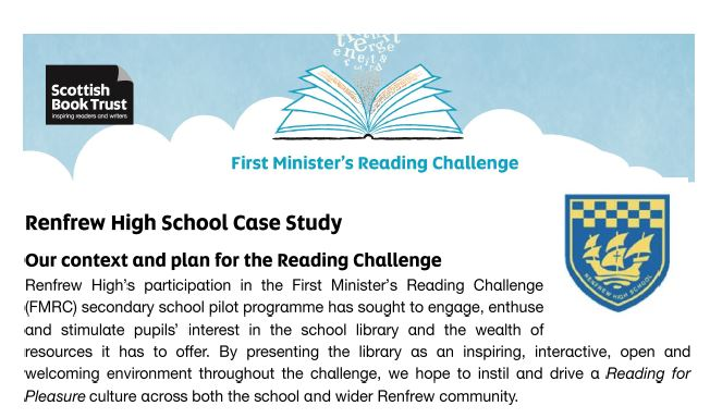 Renfrew High case study