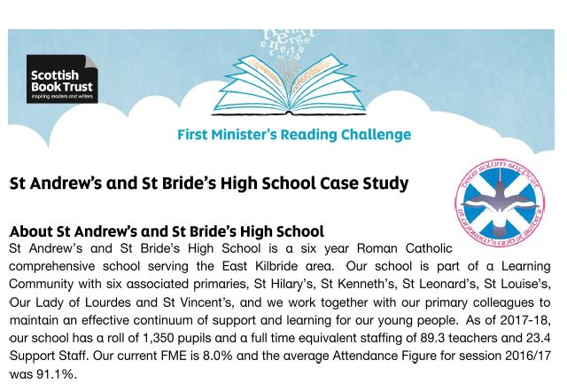 St Andrew's and St Bride's Case Study