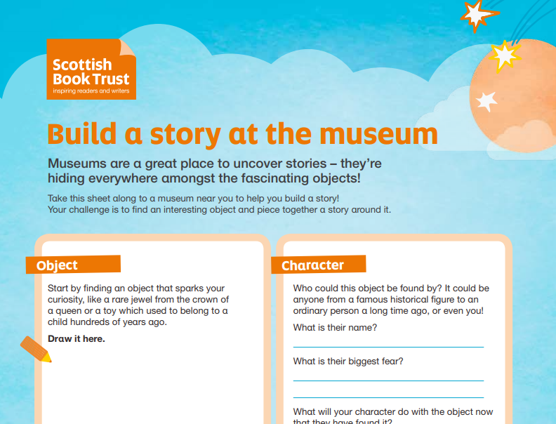 Build a Story at the Museum