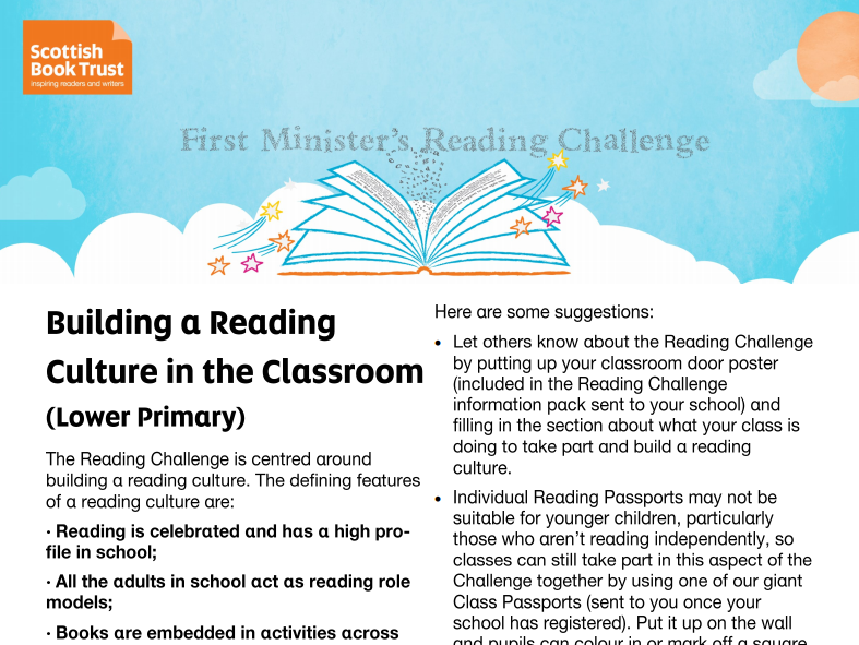 Creating a Reading Culture in your Classroom - Lower Primary