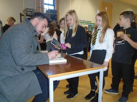 Ross Mackenzie author visit