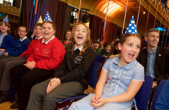 Pupils at Celebration Event