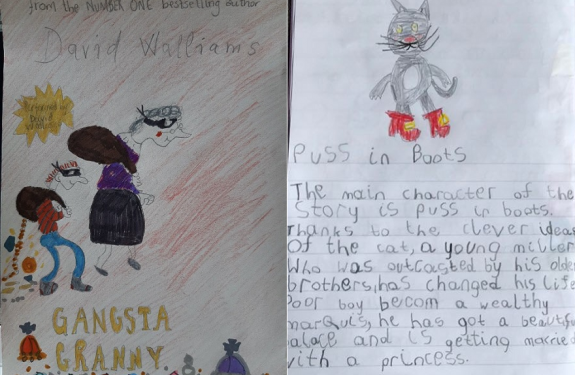 Pupil responses to books