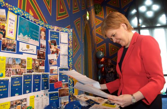 First Minister Nicola Sturgeon at FMRC event