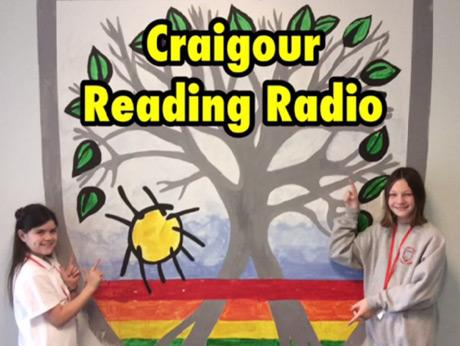 Students with Reading Radio banner